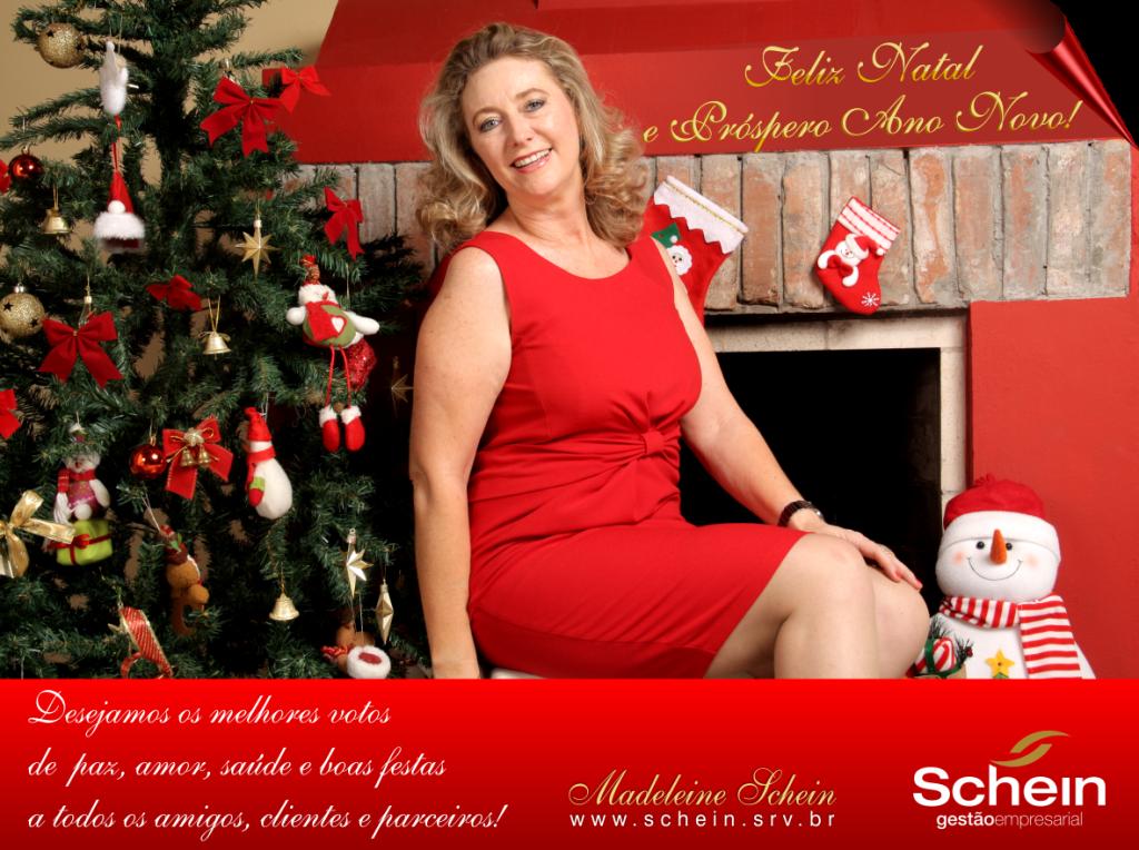 Cartão Natal Schein