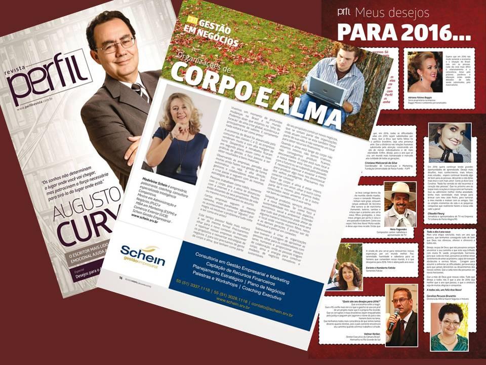 Revista Perfil 201512_Organizações de Corpo e Alma_Madeleine Schein